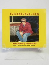 Twist Of Love Rockumentry By Craig Canon New CD - Usually ships in 12 ho... - $7.51
