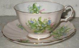 Vtg Westbrook Forget-Me-Nots Flowers Bone China Made in England Tea Cup ... - €16,12 EUR