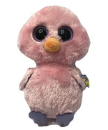 "Ty Beanie Boos Posy Pink Easter Chick Retired  9"" 2011 with Tags Purple Eyes - $14.69"