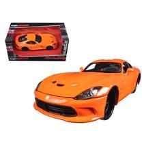 2013 Dodge Viper GTS SRT Orange Modern Muscle 1/24 Diecast Model Car by ... - $32.30