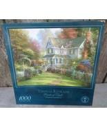 """Thomas Kinkade The Painter Of Light Victorian Garden II 1000 Piece 27x20"""" - $24.00"""