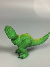 Toy Story Dinosar Rex collectible kids toy cake topper diorama railroad ... - $10.43