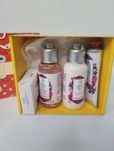 New L' Occitane skin care travel set gift set Rose and Violet lotion soap - $29.69