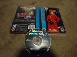 Who Shot Johnny Rock (Sega CD, 1994) - $27.71