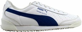 Puma Trimm Quick II 2 White/Team New Royal 341745 04 Men's Size 8.5 - $28.48