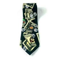Looney Tunes men's necktie money bugs bunny daffy duck Tasmanian devil  Z7 - $11.61