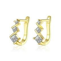 Elements Intertwined Clip On Earrings - $9.80