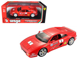 Ferrari F355 Challenge Red 1/24 Diecast Model Car by Bburago - $35.69