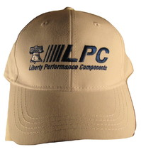 LPC Liberty Performance Components White Baseball Trucker Hat Loop Lock ... - $5.99