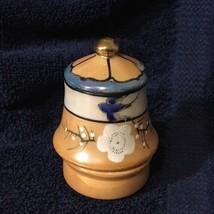 Vtg Hand Painted Lusterware Porcelain ??? - $7.69