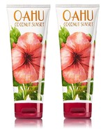 Bath & Body Works Oahu Coconut Sunset Ultra Shea Body Cream 8 oz- Lot of 2 - $29.99
