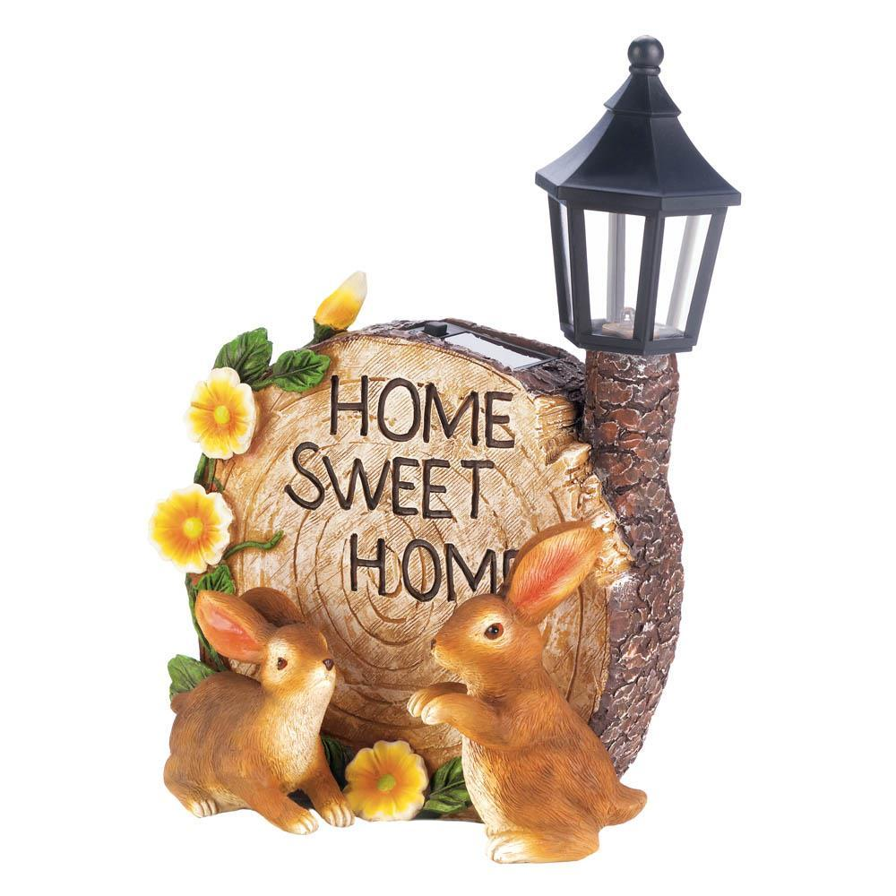 Solar home sweet home bunnies image