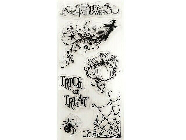 Happy Halloween Clear Stamp Set