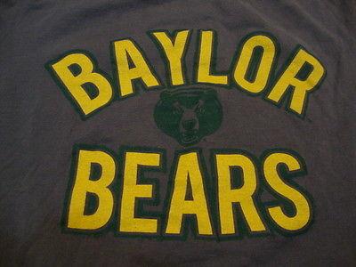 official photos 06bae 05514 Ncaa Baylor Bears Gray T Shirt L and 50 similar items