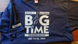 Las Vegas Big Time Basketball Tournament T-Shirt 3XL Reebok 2004 Free Shipping - $18.95