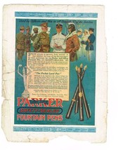 Aug.1918 Great Lakes Recruit Mag; Parker Fountain Pens for Servicemen & ... - $9.99