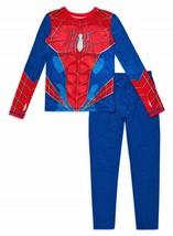 Spiderman Marvel Isolanti Caldo Mutande Set Maglia Ragazzi 6-7 8-10 O 10-12 - $16.09