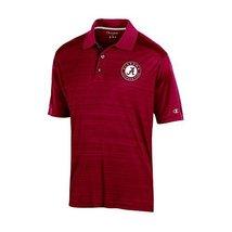 NCAA Alabama Tide Adult Men Short sleeve Colorblocked, Small, Crimson