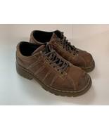 Dr Martens Air Wair 9764 Brown Oxford Plain Toe Size Mens 7  Womens 8 Shoes - $24.85