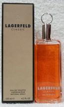 Coty Karl LAGERFELD CLASSIC Eau De Toilette EDT Spray Men 4.2 oz/125mL N... - $38.61