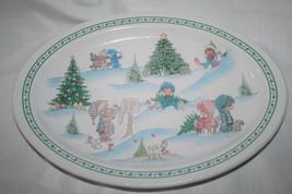 Precious Moments Enesco Winter Scene Signature Store Platter #179663 - $16.00