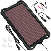 POWOXI Solar Battery Charger Car, 3.3W 12V Solar Trickle Charger for Car... - $51.36