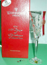 Waterford Crystal Flute 4th Edition 12 Days Christmas Four Calling Birds... - $74.90