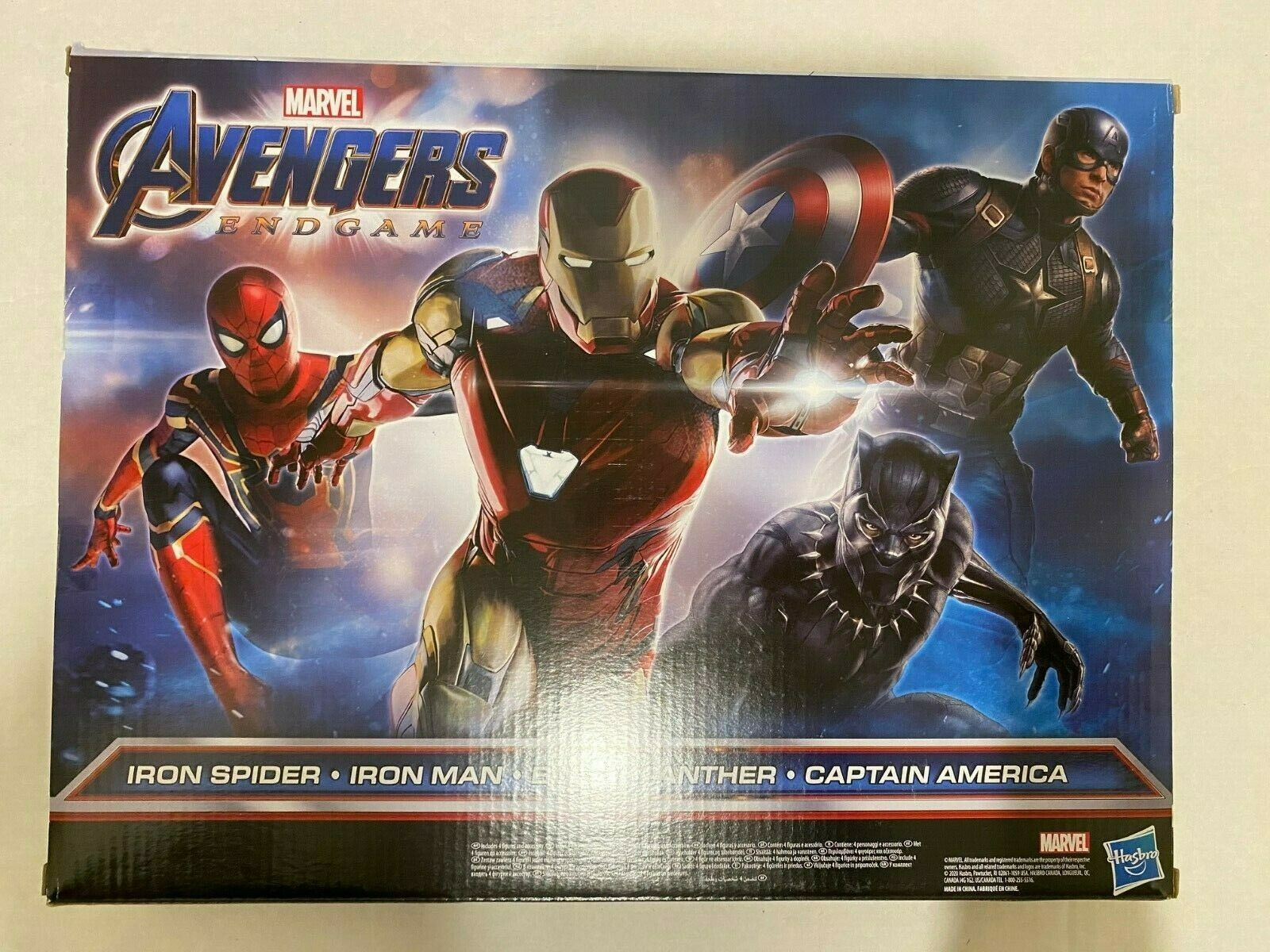 Primary image for New Marvel Avengers Captain America Iron man Iron Spider Black Panther