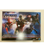 New Marvel Avengers Captain America Iron man Iron Spider Black Panther - $65.79