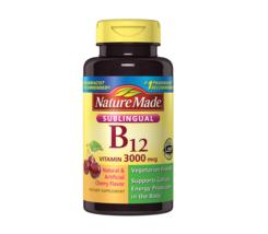 Nature Made Sublingual B12 Vitamin 3000 mcg 250 ct. - $38.69