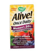 NATURE'S WAY Alive Once Daily Women's 50+ Multi-Vitamin, 60 Tablets - $29.99