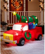 Christmas Outdoor Decor Inflatable Red Truck - $129.95