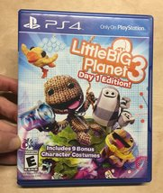 LittleBigPlanet 3 -- Day One Edition (Sony PlayStation 4, 2014) Video Ga... - $19.98