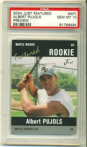 Albert Pujols 2004 Just Rookie #AP1 Gem Mint PSA 10