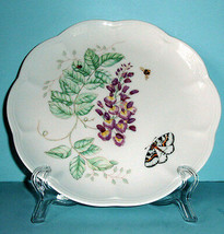 "Lenox Butterfly Meadow Accent Luncheon Plate Eastern Tailed Blue 9.25"" New - $14.50"