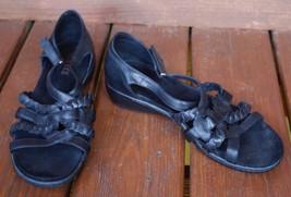 Antia 10 WW 5 Black Leather Sandals OdOwr6xq0C