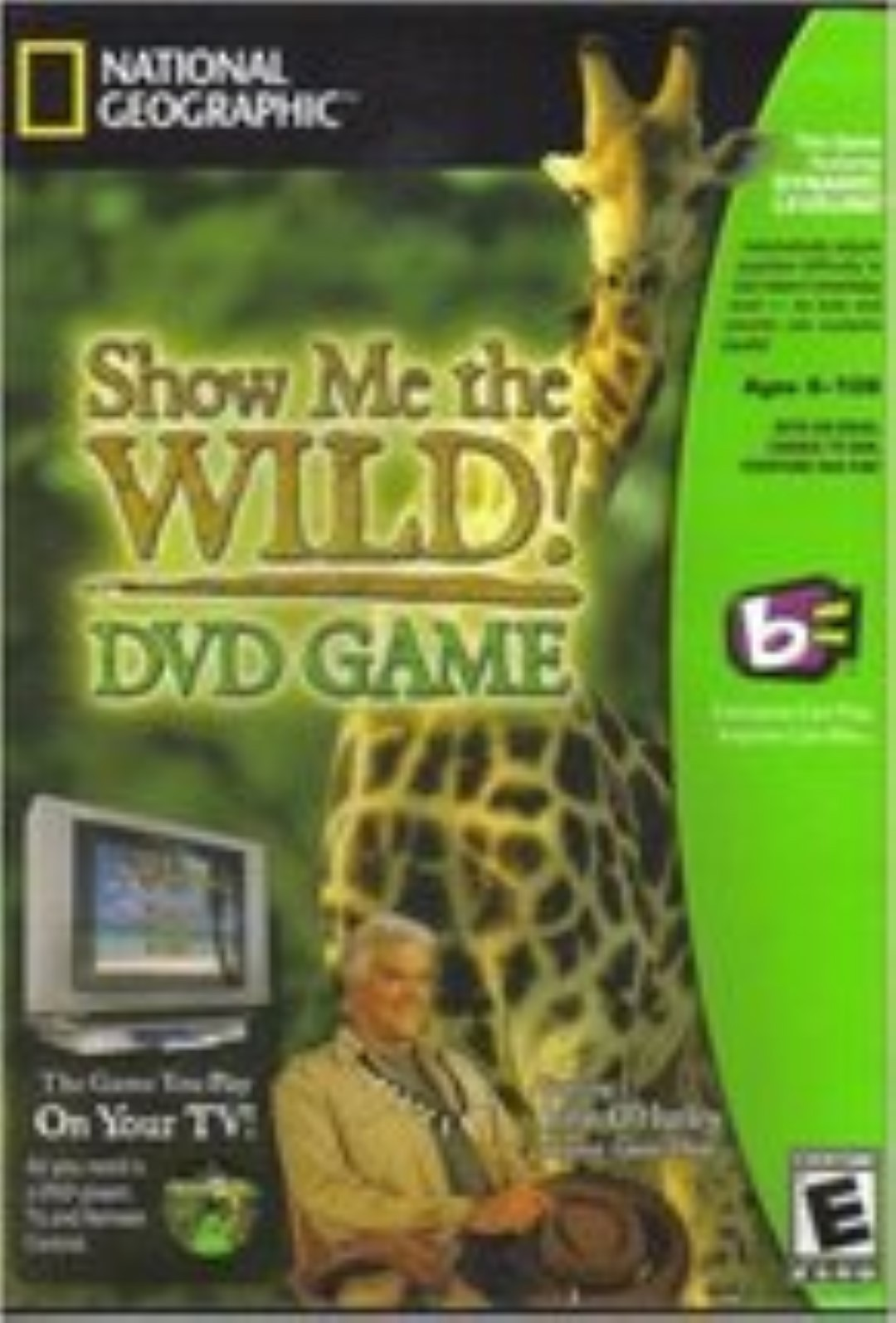 Show Me the Wild!  Game with John O'Hurley by National Geographic Dvd