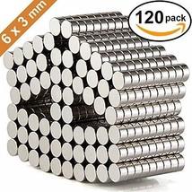 DIYMAG Refrigerator Magnets Premium Brushed Nickel Fridge Magnets, Offic... - $22.88