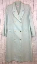Vintage Henry Lee Light Green Belted Dress Coat Custom Made  Collectible - $74.80