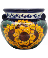 """Small Mexican Flower Planter """"Sunflowers"""" - $75.00"""