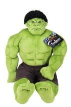 Jay Franco Avengers Plush Stuffed Hulk Pillow Buddy - Super Soft Polyest... - $32.13