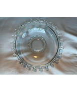 "Vintage Crystal Heisey Lariet Nappy 7"" Bowl Mint - $11.99"