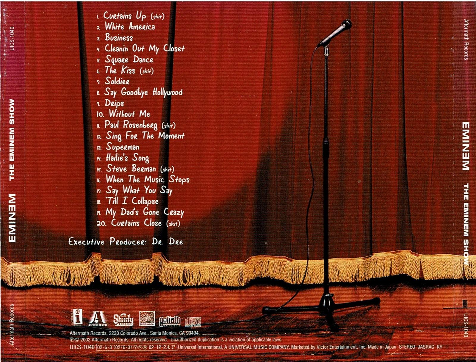Eminem - The Eminem Show [Explicit] (Audio CD 2002)