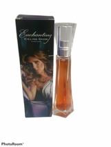 Enchanting By Celine Dion 1.0 Oz 30 Ml Edt Women Perfume Spray New In Box Rare - $84.14