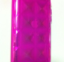 Pink TPU Gel Case for iPod touch 4th Gen with Gem design - $4.45