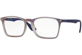 Authentic Ray Ban Eyeglasses RB7045 5486 Purple Frames Rx-ABLE 55MM - $44.54