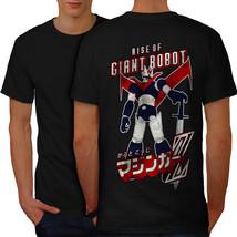 Rise Of Giant Robot Geek Shirt Japan Style Men T-shirt Back - $12.99+