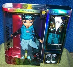 """Rainbow High-River Kendall-Teal Boy Fashion 11"""" Doll New with 2 Outfits - $17.88"""