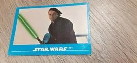 Star Wars 1984 Lucasfilm Ltd Kellogg #1  Sticker Trading Card Luke Skywa... - $9.50