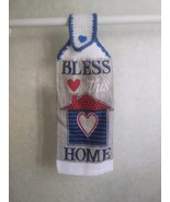 Patriotic Bless This Home - Heart - Hanging Towel - $3.30